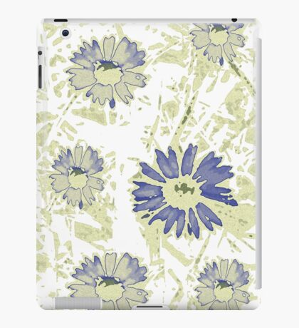 abstract daisy iPad Case/Skin
