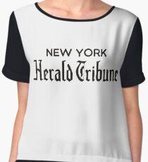 New York Herald Tribune - À bout de souffle Women's Chiffon Top