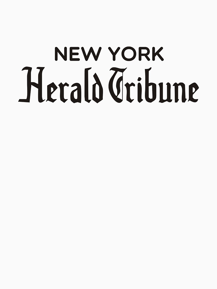 TShirtGifter presents: New York Herald Tribune -  bout de souffle | Women's T-Shirt