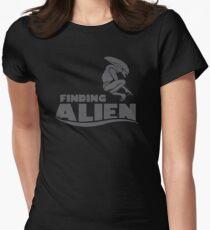 Finding Alien (Finding Dory inspired horror) Women's Fitted T-Shirt