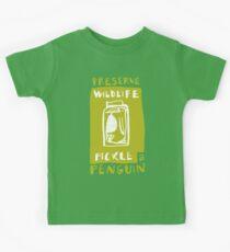 Pickle a Penguin Kids Tee