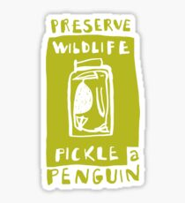 Pickle a Penguin Sticker
