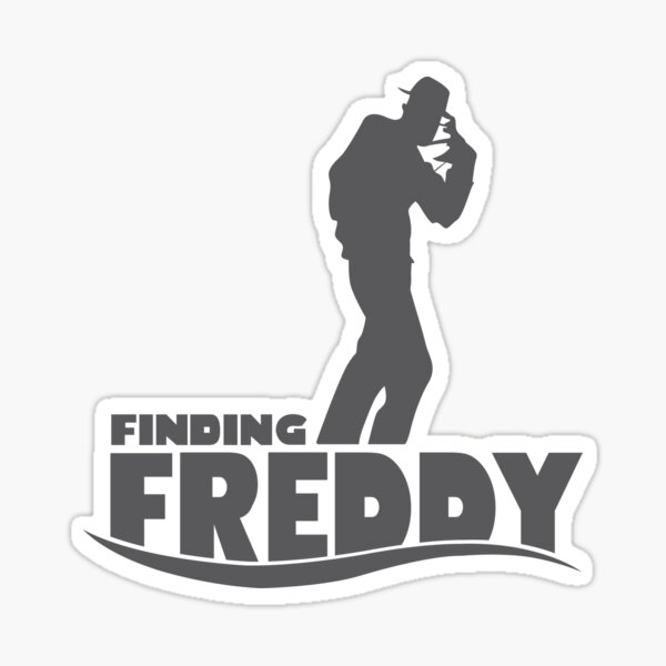 Finding Freddy (Finding Dory inspired horror) Sticker