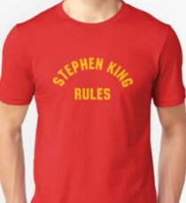 Stephen King Rules T-Shirt