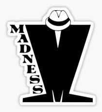 Madness T shirt ska Sticker