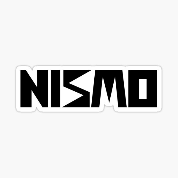 Nismo Classic Black Sticker