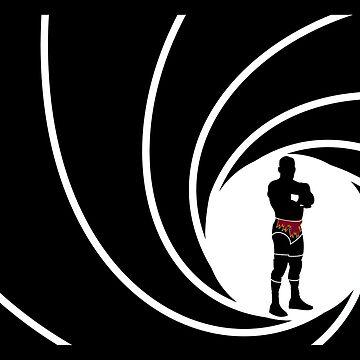 Dean Malenko James Bond Wrestling 007 by Waygood83