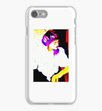 Lady in White: Graphic iPhone Case/Skin