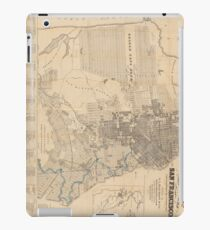 Vintage Map of San Francisco CA (1881) iPad Case/Skin