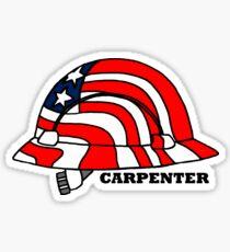 Pegatina Carpenter American Hard Hat
