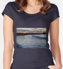 Shimmering Shore - Griffiths Island Women's Fitted Scoop T-Shirt