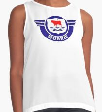 The Mighty Morris Cars Logo Contrast Tank