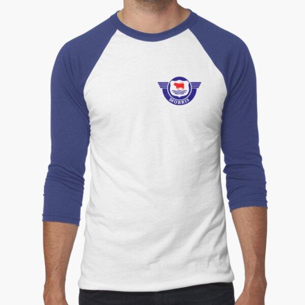 The Mighty Morris Cars Logo Baseball ¾ Sleeve T-Shirt