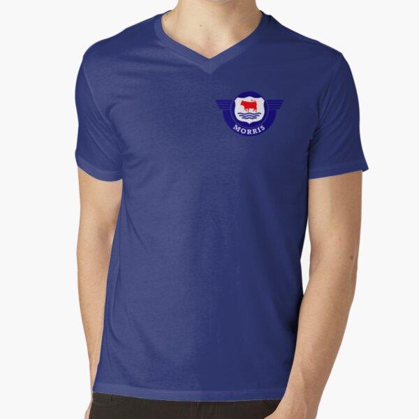 The Mighty Morris Cars Logo V-Neck T-Shirt