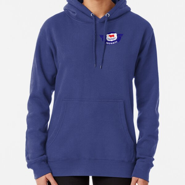 The Mighty Morris Cars Logo Pullover Hoodie