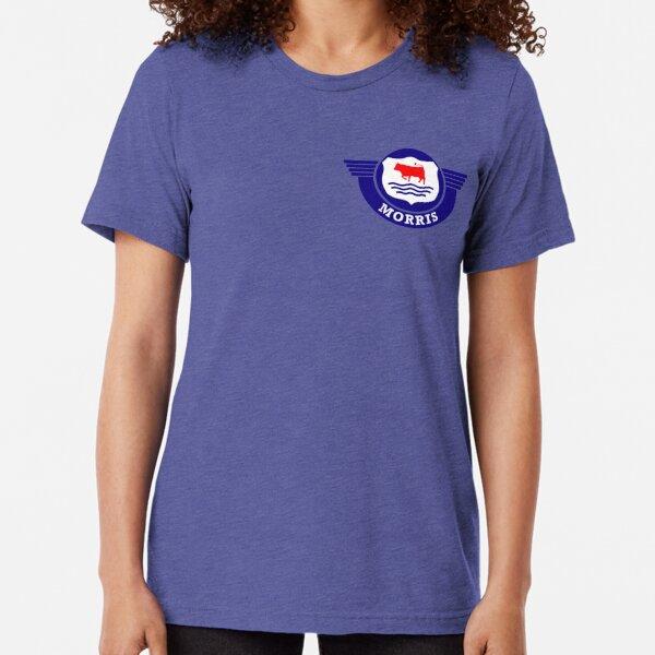 The Mighty Morris Cars Logo Tri-blend T-Shirt
