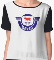 The Mighty Morris Cars Logo Chiffon Top