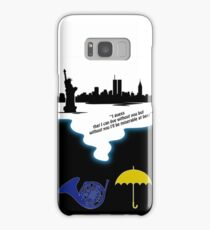 How I met Your Mother Tribute ( Mayday Parade quote) Samsung Galaxy Case/Skin