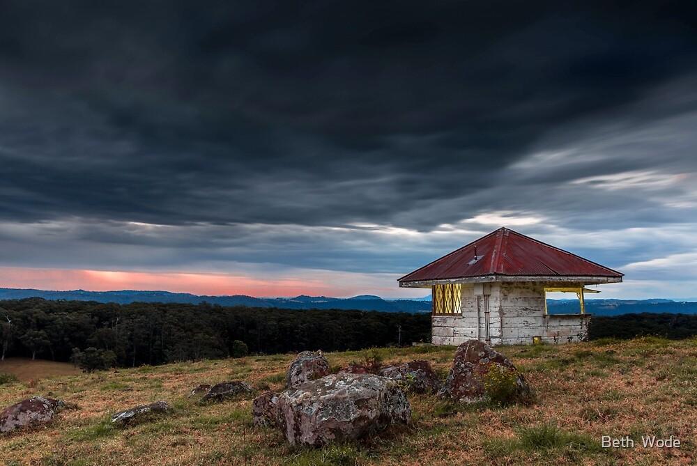The Hut - Gold Coast Hinterland Qld Australia by Beth  Wode