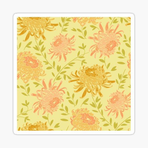 Chrysanthemum Yellow Sticker