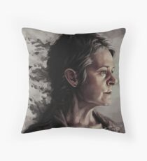 Some things you let go in order to live - Carol Peletier Throw Pillow
