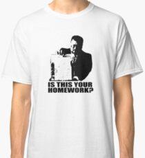 The Big Lebowski Walter Sobchak Homework T shirt Classic T-Shirt