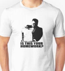 The Big Lebowski Walter Sobchak Homework T shirt Unisex T-Shirt