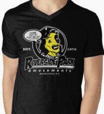 Riverside Park Amusements Mens V-Neck T-Shirt