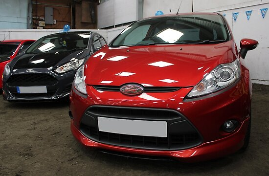 Ford Fiesta Mk7 and Mk7.5 by Vicki Spindler (VHS Photography)