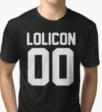 Lolicon 00 Tri-blend T-Shirt