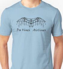 Da Vinci Airlines Unisex T-Shirt
