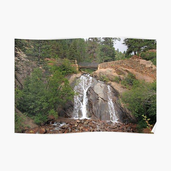 The Broadmoor Seven Falls, Colorado, United States of America - Travel Poster