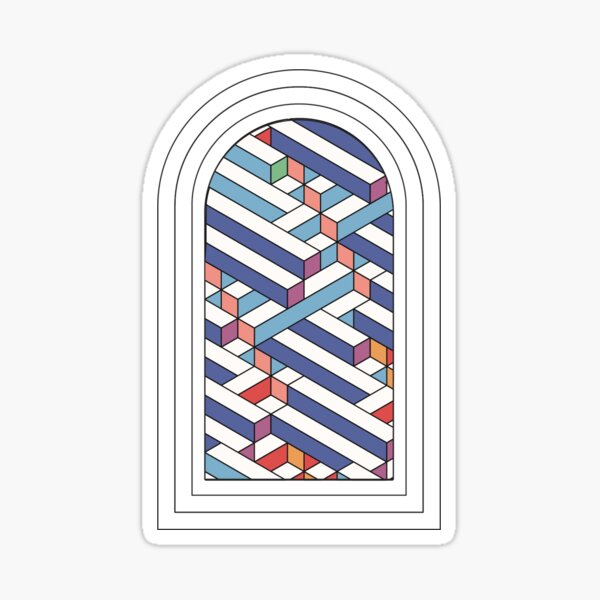 Colored Portal Sticker
