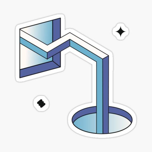 Square Circle Portal Sticker