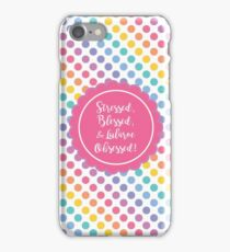 stressed blessed obsessed Lularoe Designs 2, dots iPhone Case/Skin