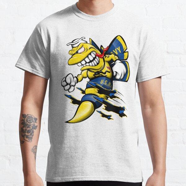 Cartoon Blue Angels F/A-18 Hornet Classic T-Shirt
