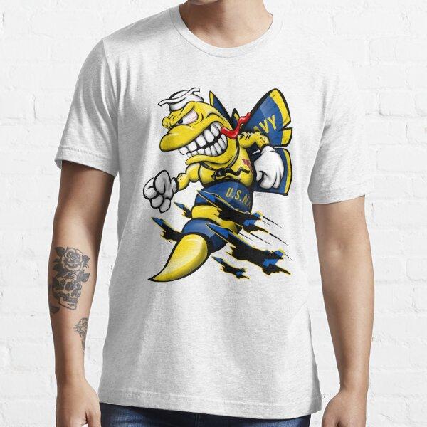 Cartoon Blue Angels F/A-18 Hornet Essential T-Shirt