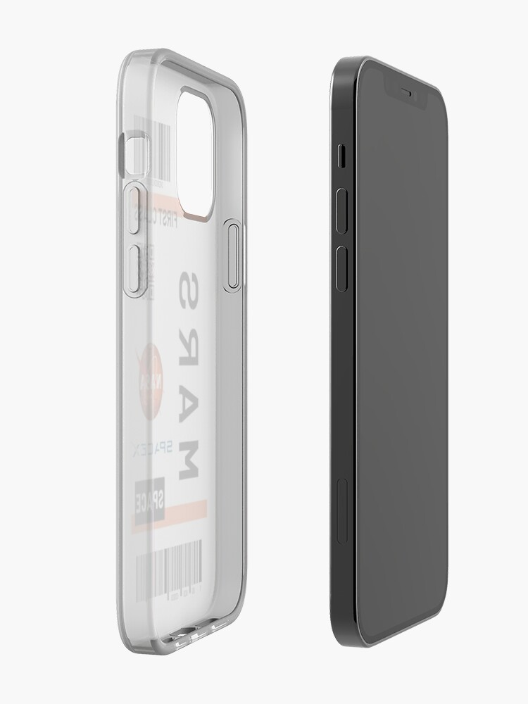 Alternate view of Mars space ticket  iPhone Case & Cover