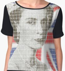 God Save The Queen Chiffon Top