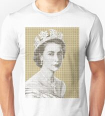 God Save The Queen - Gold T-Shirt
