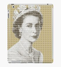 God Save The Queen - Gold iPad Case/Skin