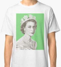God Save The Queen - Green Classic T-Shirt