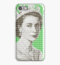 God Save The Queen - Green iPhone Case/Skin
