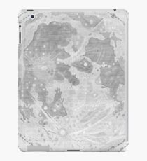 Vintage Map of The Moon (1647) iPad Case/Skin