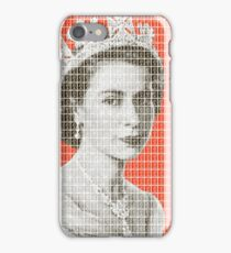 God Save The Queen - Orange iPhone Case/Skin