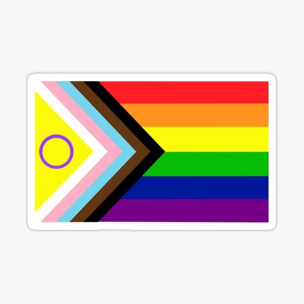 2021 Intersex-Inclusive Progress Pride Flag Sticker