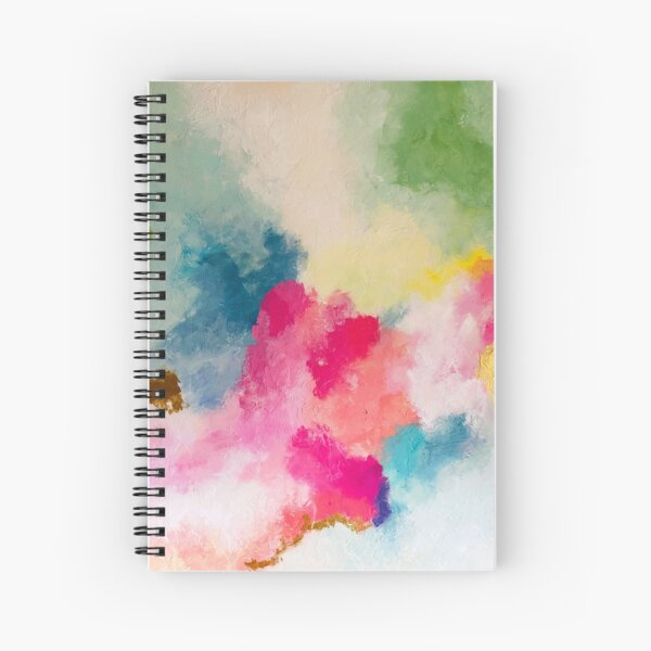 """""""Dream in Color"""" Spiral Notebook"""