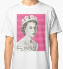 God Save The Queen - Pink Classic T-Shirt