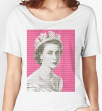 God Save The Queen - Pink Women's Relaxed Fit T-Shirt