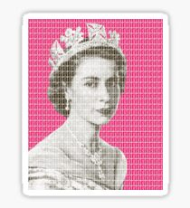 God Save The Queen - Pink Sticker